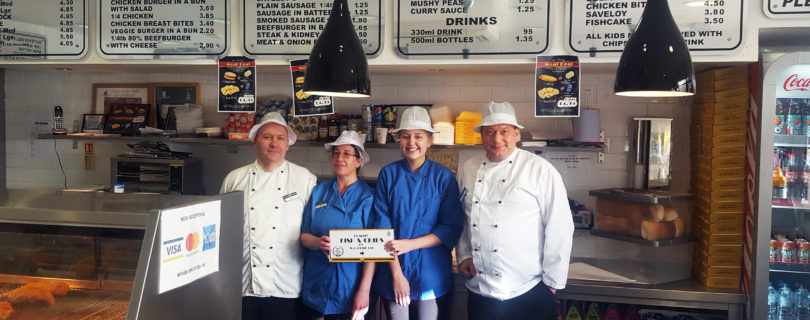 James visits long-standing Florigo customer, William Rowe!