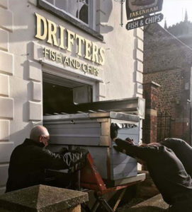 Florigo Range Being Installed At Drifters Fish & Chip Shop