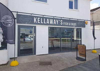 Kellaway's Fish & Chips shop front
