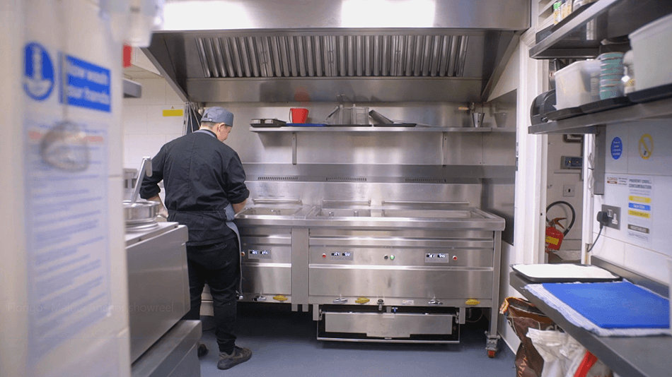 Malt & Anchor Florigo Frying Range