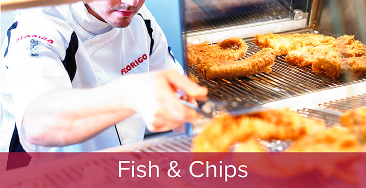 Frying Ranges & Equipment For Fish & Chip Shops