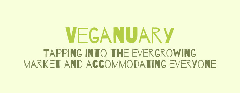 Veganuary – Keeping with the times