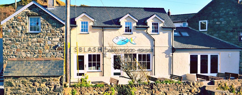 Shop Front Sblash Fish Bar Aberdaron