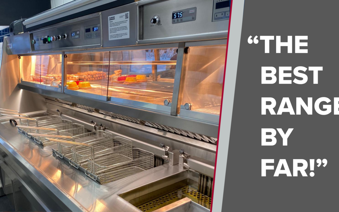 """The Best Range by Far!"" says Chippy Owner Dean Gardner"