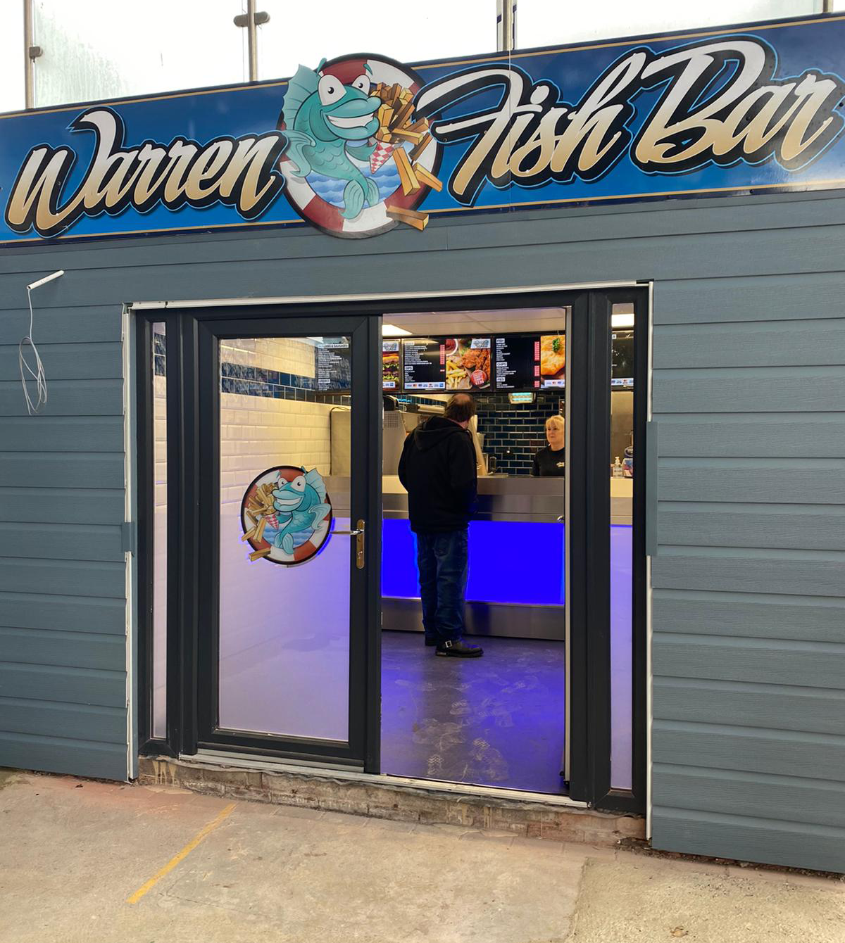 Warren Fish Bar Shop Front